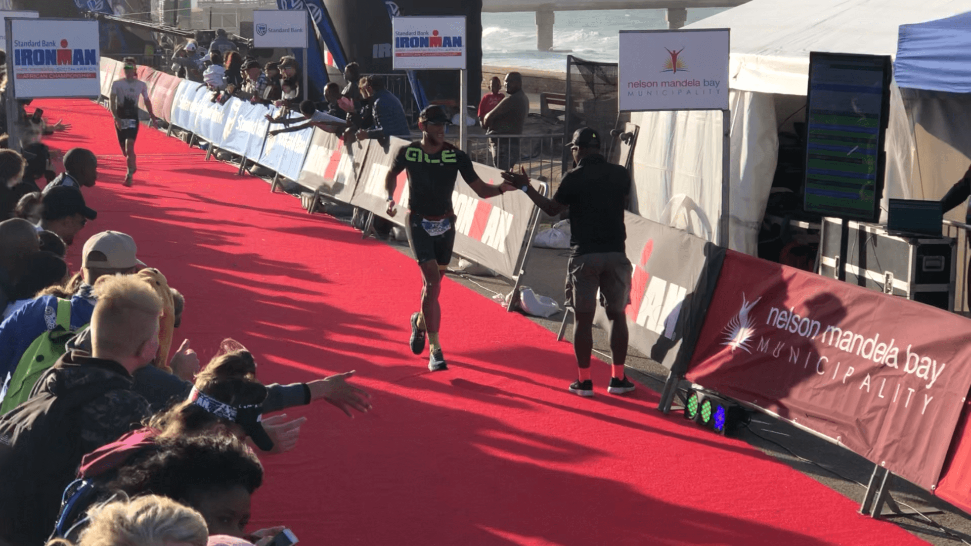 Ironman South Africa Finish Line